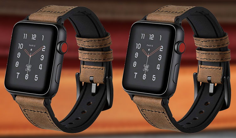 Best Leather Bands for Apple Watch 5, 4, 3 and 2 in 2021